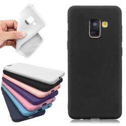 Samsung Galaxy A8 2018 - Skal / Mobilskal Lätt & Tunt Vit