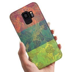 Samsung Galaxy A8 (2018) - Skal / Mobilskal Lövmönster