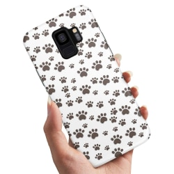 Samsung Galaxy A8 (2018) - Skal / Mobilskal Paw Pattern