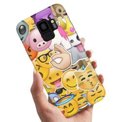 Samsung Galaxy A8 (2018) - Skal / Mobilskal Smiley