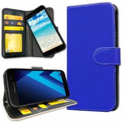 Samsung Galaxy J3 (2016) - Plånboksfodral Blå blue