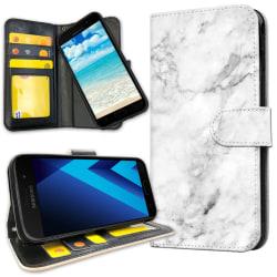Samsung Galaxy J3 (2016) - Plånboksfodral Marmor