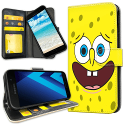 Samsung Galaxy J3 (2016) - Plånboksfodral Svampbob