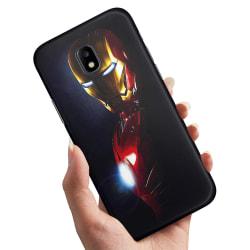 Samsung Galaxy J3 (2017) - Skal / Mobilskal Glowing Iron Man