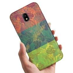 Samsung Galaxy J3 (2017) - Skal / Mobilskal Lövmönster