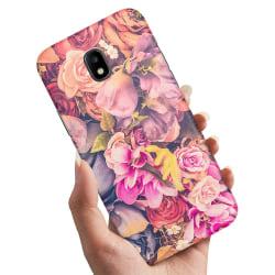 Samsung Galaxy J3 (2017) - Skal / Mobilskal Roses