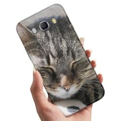 Samsung Galaxy J5 (2016) - Skal / Mobilskal Sovande Katt