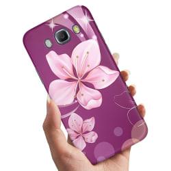 Samsung Galaxy J5 (2016) - Skal / Mobilskal Vit Blomma