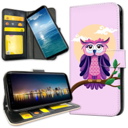 Samsung Galaxy Note 10 Plus - Plånboksfodral Fin Uggla