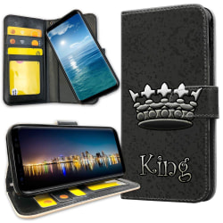 Samsung Galaxy Note 10 Plus - Plånboksfodral King