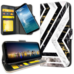 Samsung Galaxy Note 10 Plus - Plånboksfodral Krokigt Mönster