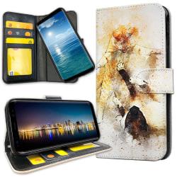 Samsung Galaxy Note 10 Plus - Plånboksfodral Lekande Katter