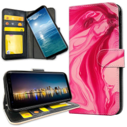 Samsung Galaxy Note 10 Plus - Plånboksfodral Marmor