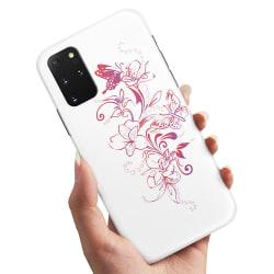 Samsung Galaxy Note 20 - Skal / Mobilskal Blommor & Fjärilar