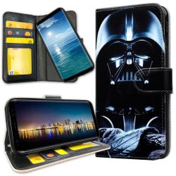 Samsung Galaxy Note 9 - Plånboksfodral Darth Vader