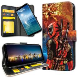 Samsung Galaxy Note 9 - Plånboksfodral Deadpool Space