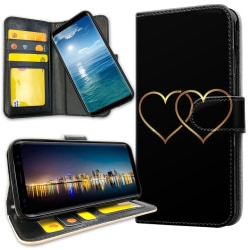 Samsung Galaxy Note 9 - Plånboksfodral Double Hearts