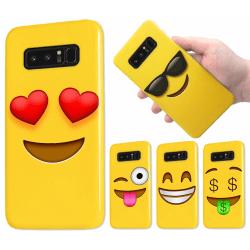 Samsung Galaxy Note 9 - Skal / Mobilskal - Emoji - 15 Olika Moti 2