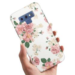 Samsung Galaxy Note 9 - Skal / Mobilskal Retro Blommor