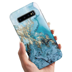 Samsung Galaxy S10 Plus - Skal / Mobilskal Konstmönster