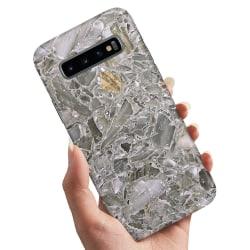 Samsung Galaxy S10 Plus - Skal / Mobilskal Marmor