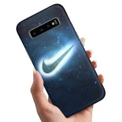 Samsung Galaxy S10 Plus - Skal / Mobilskal Nike Yttre Rymd