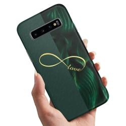 Samsung Galaxy S10 - Skal / Mobilskal Infinite Love