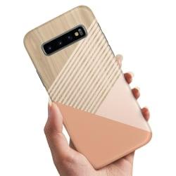 Samsung Galaxy S10 - Skal / Mobilskal Träkonst