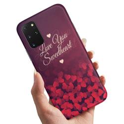 Samsung Galaxy S20 Plus - Skal / Mobilskal Hjärtan Love