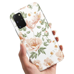 Samsung Galaxy S20 - Skal / Mobilskal Blommönster