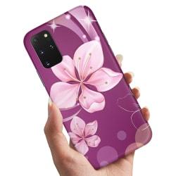 Samsung Galaxy S20 - Skal / Mobilskal Vit Blomma