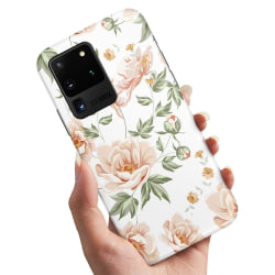 Samsung Galaxy S20 Ultra - Skal / Mobilskal Blommönster