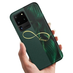 Samsung Galaxy S20 Ultra - Skal / Mobilskal Infinite Love