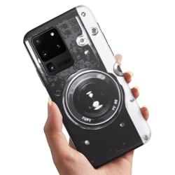 Samsung Galaxy S20 Ultra - Skal / Mobilskal Retro Kamera