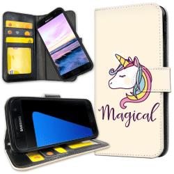 Samsung Galaxy S5 - Plånboksfodral Magisk Ponny / Unicorn