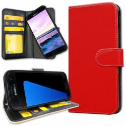 Samsung Galaxy S5 - Plånboksfodral Röd red