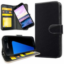 Samsung Galaxy S5 - Plånboksfodral Svart Svart