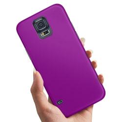 Samsung Galaxy S5 - Skal / Mobilskal Lila