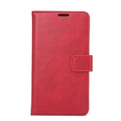 Samsung Galaxy S6 Edge Fodral Oljat PU Läder Röd red