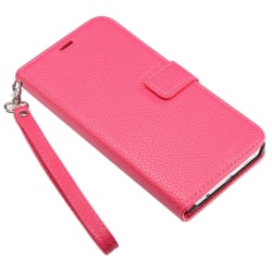 Samsung Galaxy S6 Edge Plus - Fodral med 3 Kortfack - Rosa pink