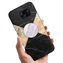 Samsung Galaxy S6 Edge Plus - Skal Marmor