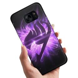 Samsung Galaxy S6 Edge - Skal / Mobilskal Lila Fairy Tail purple