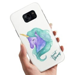 Samsung Galaxy S6 Edge - Skal / Mobilskal Sweet Dreams Pony