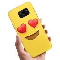 Samsung Galaxy S6 - Skal / Mobilskal Emoji / Smiley