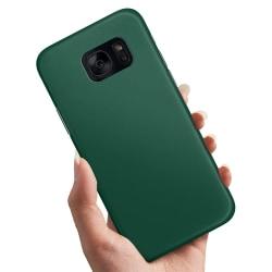 Samsung Galaxy S6 - Skal / Mobilskal Mörkgrön