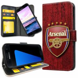 Samsung Galaxy S7 Edge - Plånboksfodral Arsenal