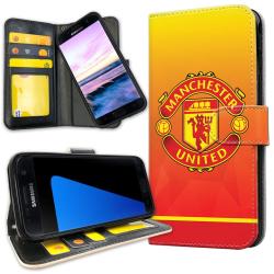 Samsung Galaxy S7 Edge - Plånboksfodral Manchester United