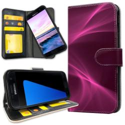 Samsung Galaxy S7 - Plånboksfodral Purple Fog