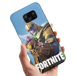 Samsung Galaxy S7 Edge - Skal / Mobilskal Fortnite