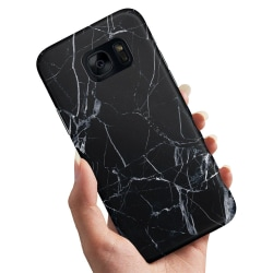 Samsung Galaxy S7 Edge - Skal / Mobilskal Sprucket Glas